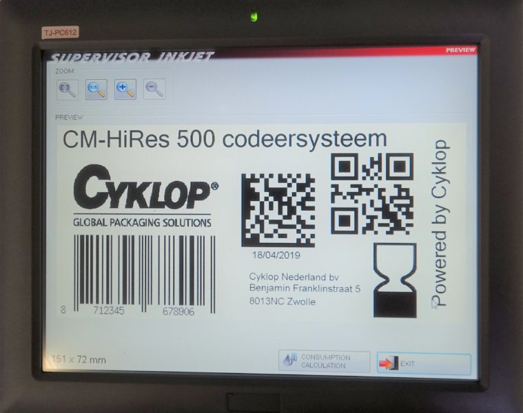 Cm 500 Touch Screen Ii